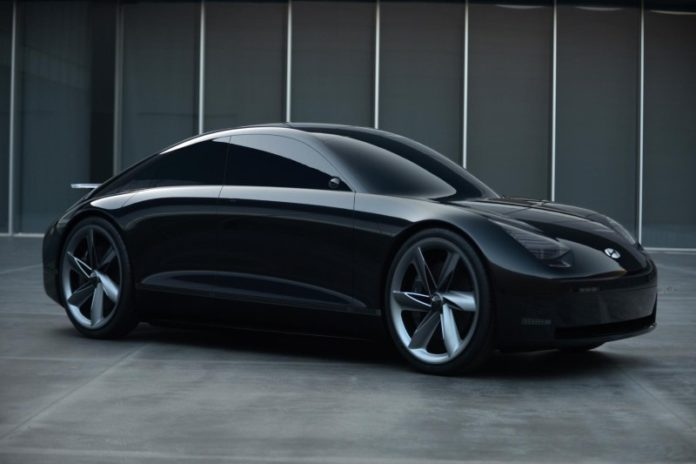 Hyundai Prophecy concept side view