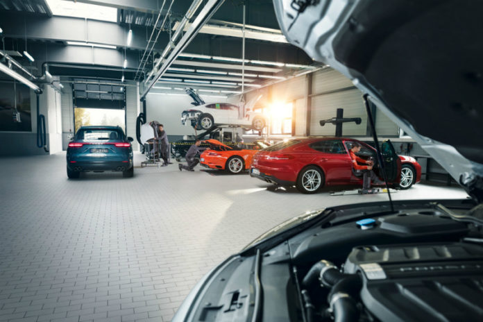 The new car warranty of Porsche cars will be extended by three months under certain conditions. (Image: Porsche)