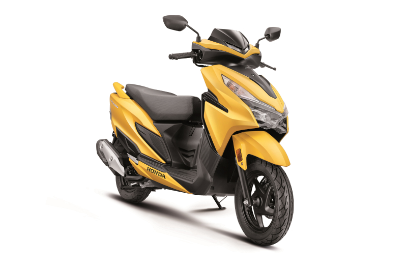 BS6-compliant Honda Grazia 125 launched at Rs 73,336