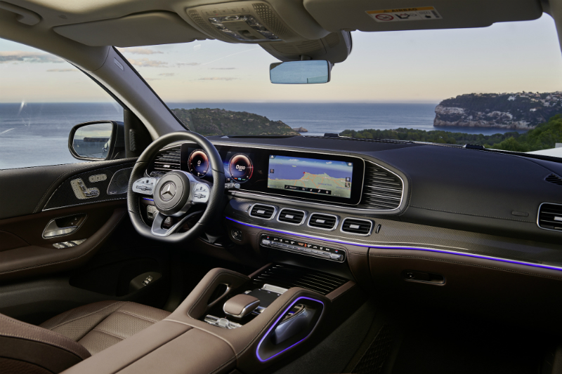 Mercedes-Benz GLS 2020 Interior - Car Update
