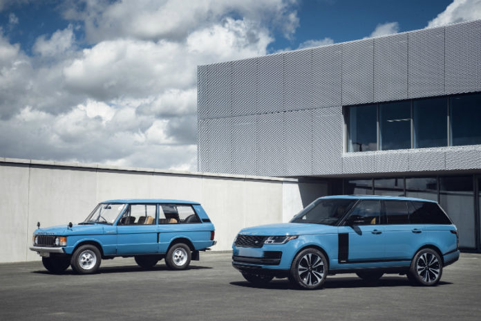 Range Rover commemorates 50th anniversary with limited edition 'Fifty'