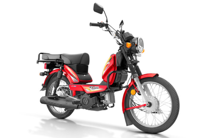 TVS XL100 offered with new EMI scheme