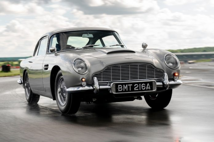 The first new Aston Martin DB5 in more than 50 years rolls off the line!