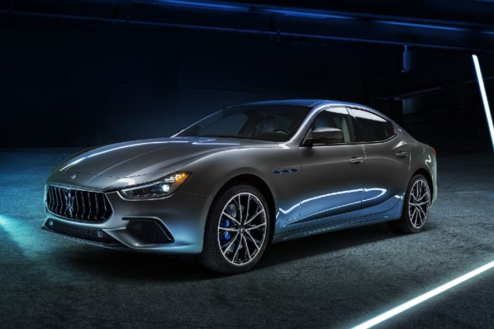 Maserati's Ghibli Hybrid becomes the first electrified vehicle from the trident brand
