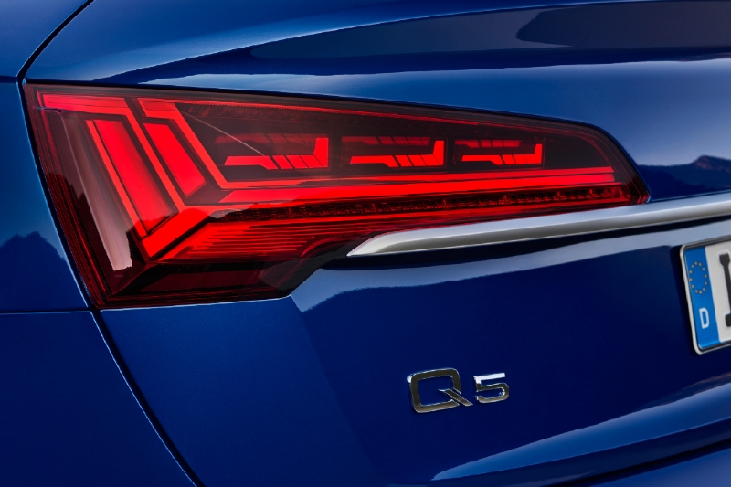 Audi Q5 Backlight- Topgear Magazine India