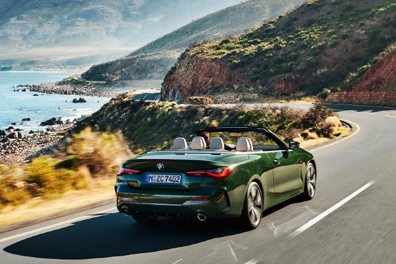 BMW 4 Series Convertible  - Topgear Magazine