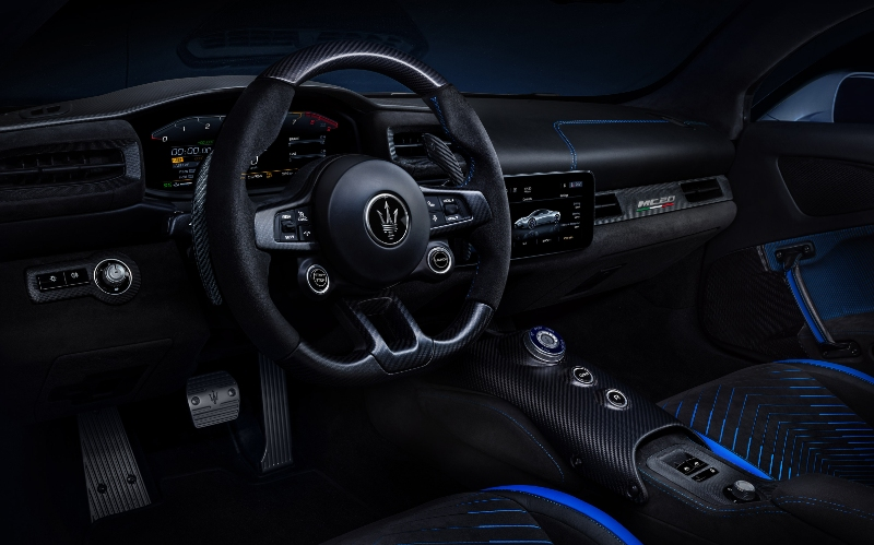 Maserati MC20 Interior - Car Blogs Online