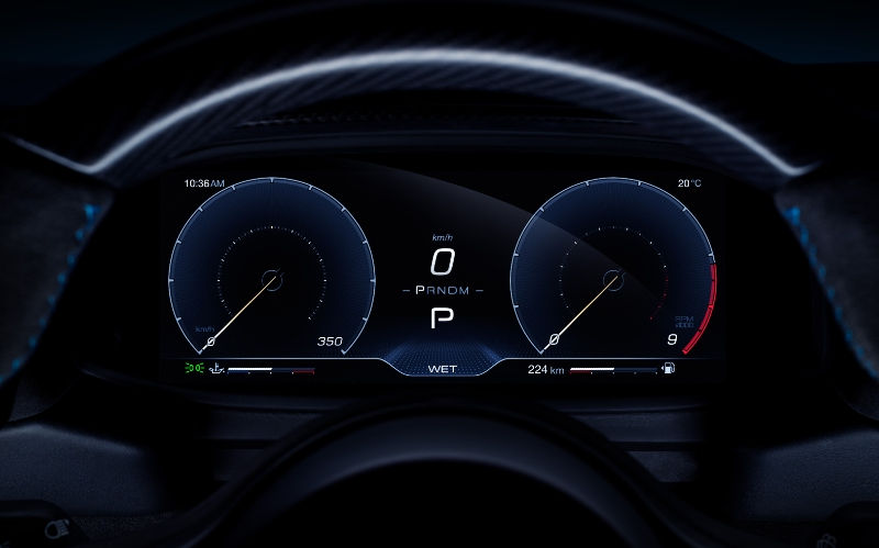 Maserati MC20 Speedometer- Car Blogs Online