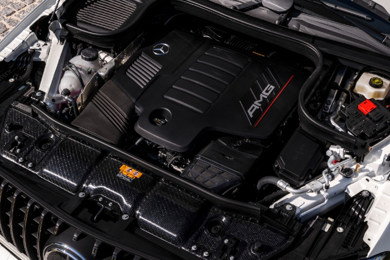 Mercedes-Benz AMG GLE 53 4MATIC Engine  - Topgear Magazine