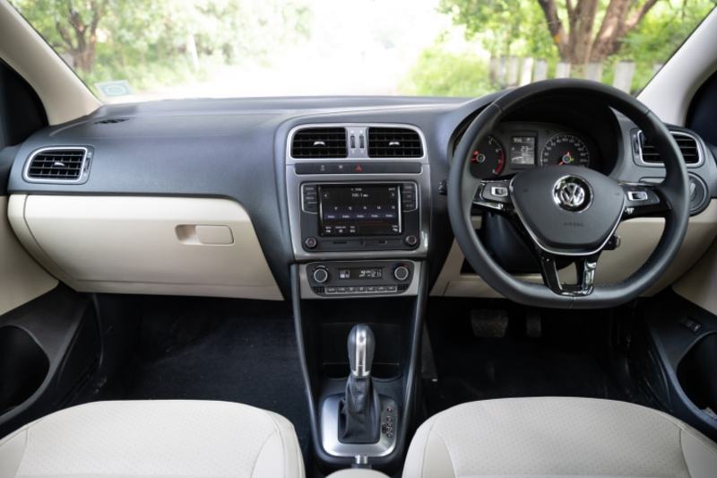 VW Vento TSI AT Interior - Topgear Magazine India