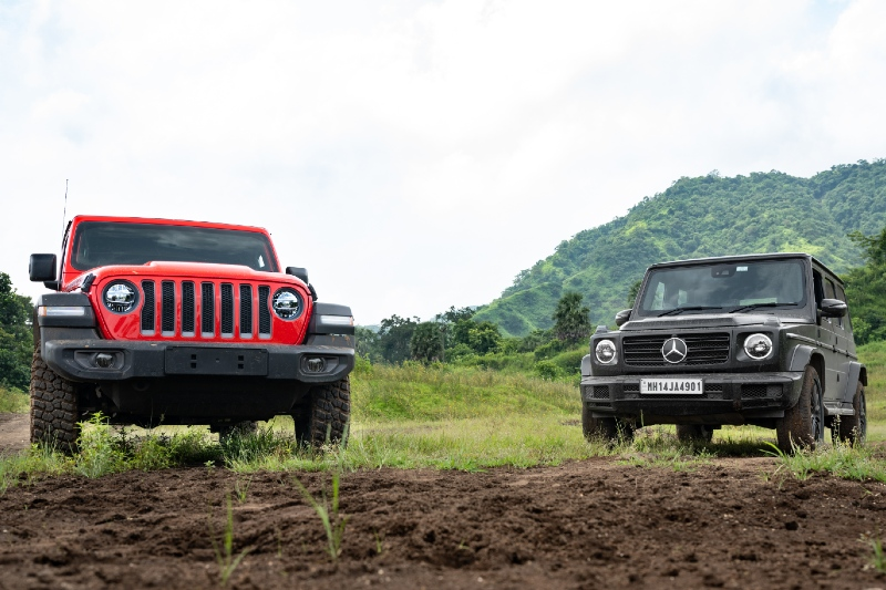 The G 350D and the Rubicon - Topgear October Highlight