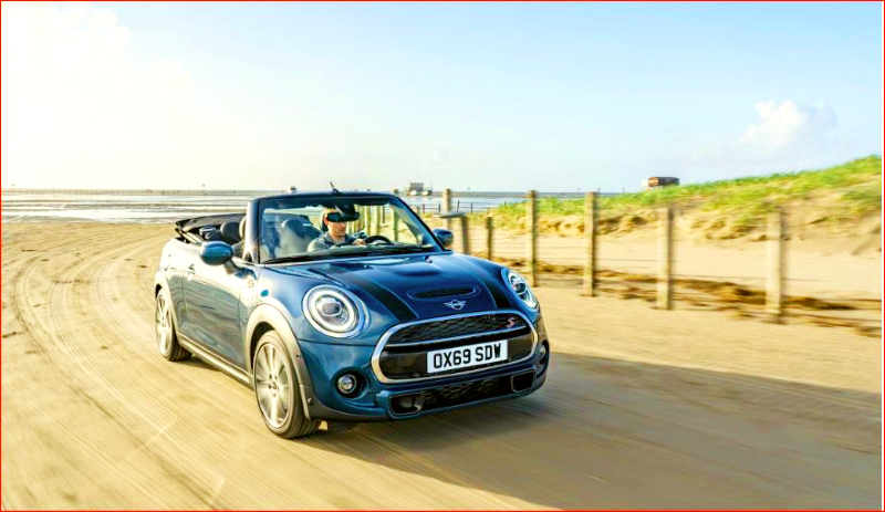 Mini Cooper Sidewalk - Car Blogs Online