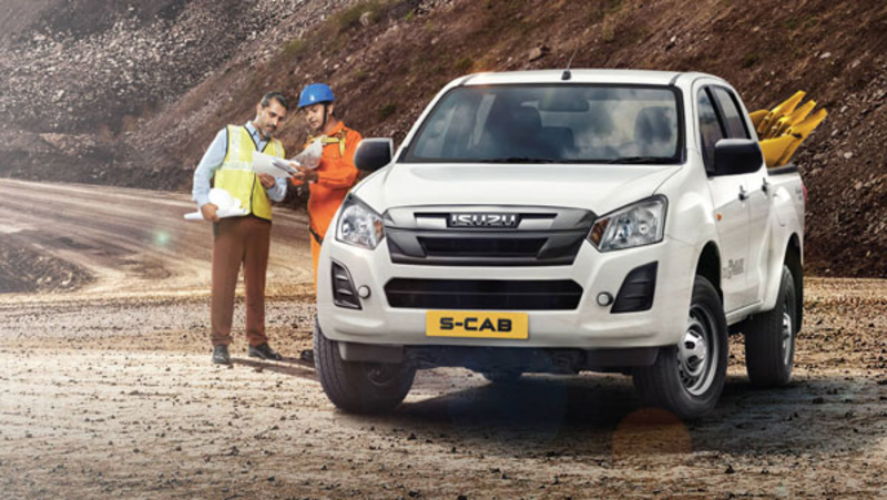 Prices for the Isuzu D-Max S-Cab start from Rs 9.82 lakh - Topgera Magazine