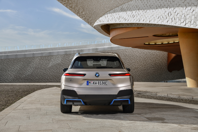 BMW iX electric SUV