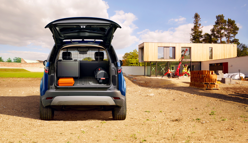 Land Rover Discovery Space - Topgear Magazine