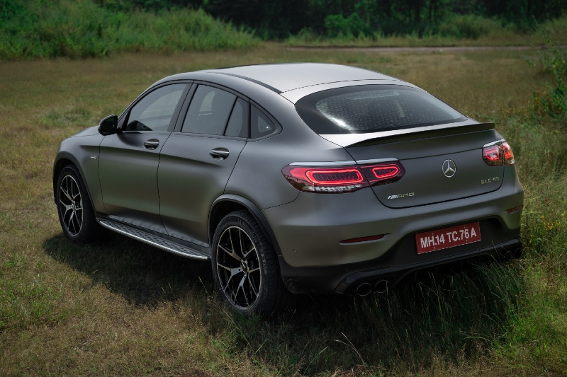 Mercedes-AMG GLC 43 Coupe exterior - Togpear Car Magazine