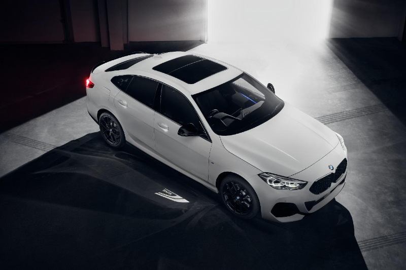 BMW 2 Series Gran Coupe black shadow edition