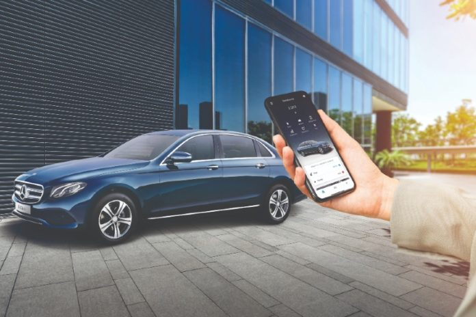 Mercedes-Benz Me application