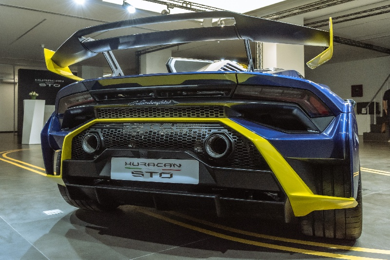 Rear of the STO